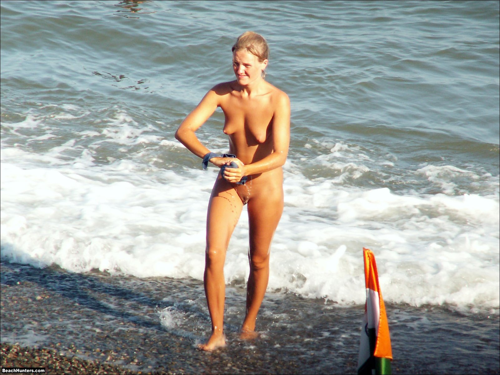 Spying on my friends wife at nude beach
