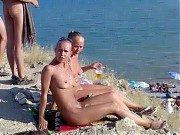 Nude amateur girl on the beach, beach sex voyeur