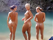 There are so Many Beautiful Naked Women on Naturist Beaches They Don't Mind Spreading Their Legs